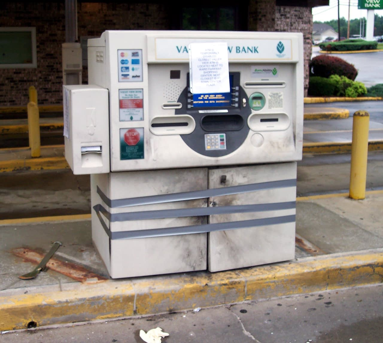 Exploded Valley View Bank ATM